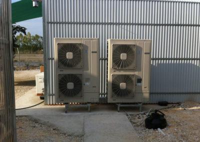 Αντλία θερμότητας σε θερμοκήπιο στο ΤΕΙ Θεσσαλίας