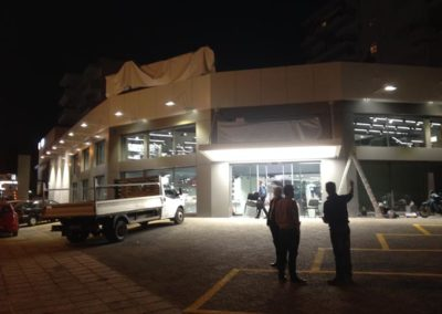 Ανακαίνιση εμπορικού κτηρίου στην Δάφνη